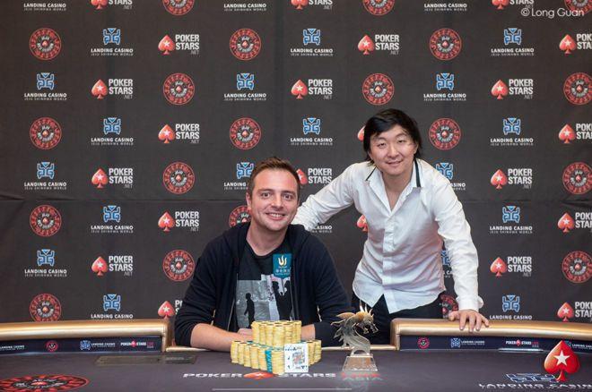 蜗牛扑克:济州岛站红龙杯SHR:现金局牌手Romain Arnaud荣获终极冠军!