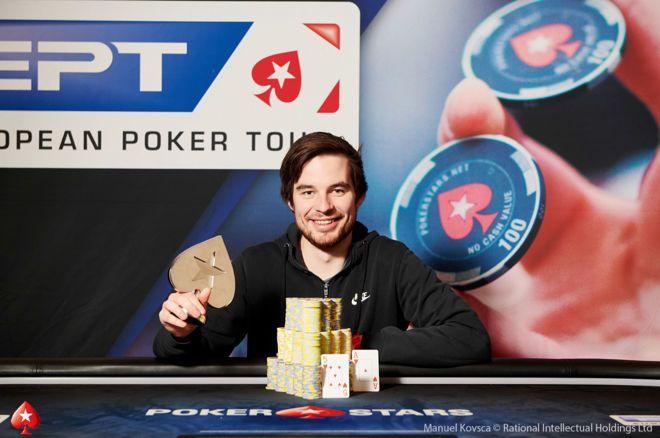 蜗牛扑克:Corentin Ropert赢得第二场€25,000单天豪客赛冠军!