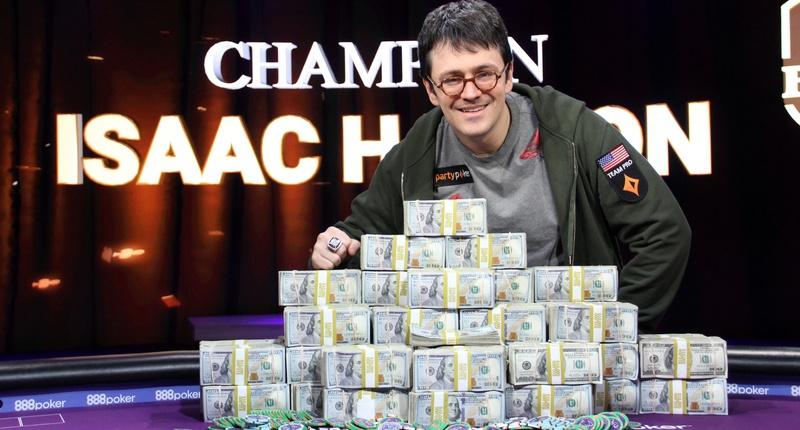 蜗牛扑克:2018第五届超级豪客碗:Isaac Haxton夺冠并分享个人眼中的成功定义