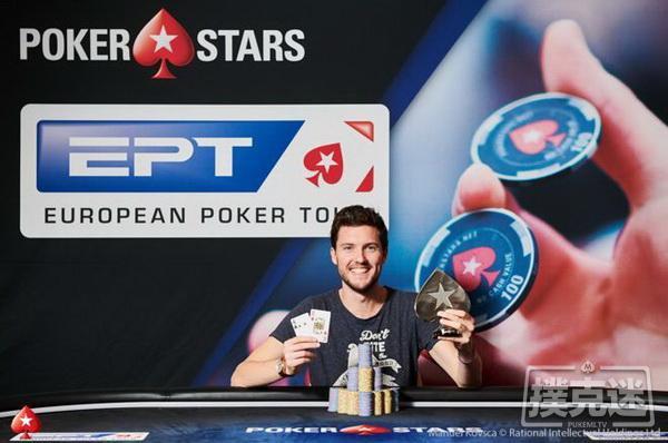 蜗牛扑克:EPT布拉格站€25,000单天豪客赛:Thomas Boivin夺冠