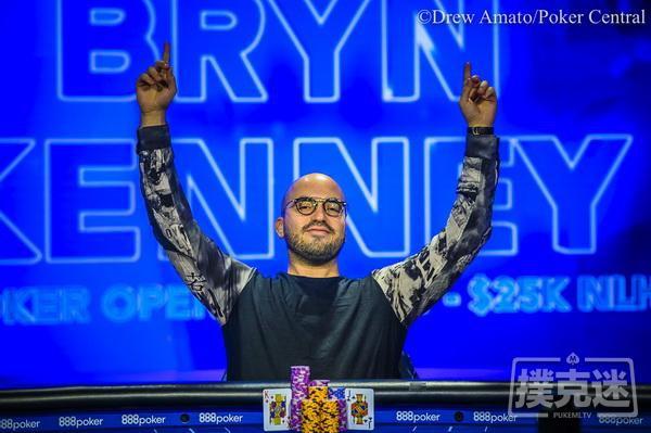 蜗牛扑克:Bryn Kenney取得2019 USPO K NLH冠军
