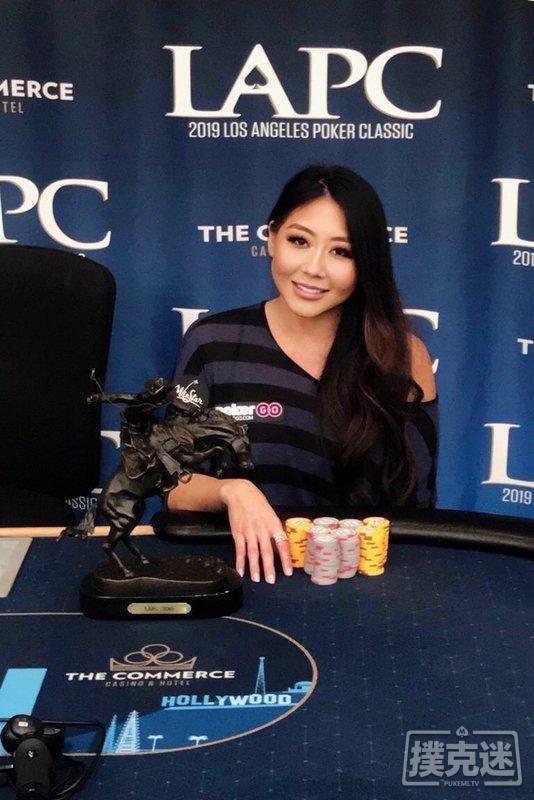 蜗牛扑克:Maria Ho生日当天击败对手斩获LAPC豪客赛冠军